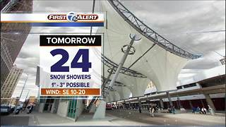 Snow returns Monday - Video