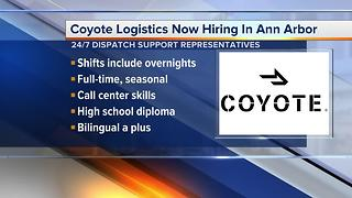 "Coyote Logistics – a UPS company – is looking for qualified people to ""join the pack"" - Video"
