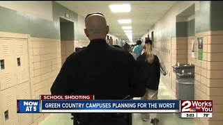 Green Country schools prepare for the worst - Video