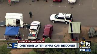 One year after deadly Payson flooding; what has been done?
