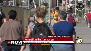 Meningitis outbreak on San Diego State campus - Video