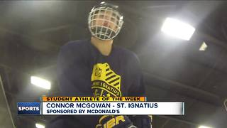 Student Athlete of the Week: Connor McGowan - Video