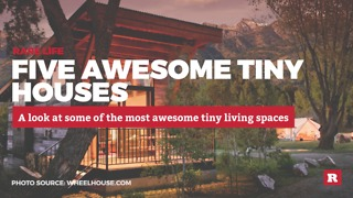 5 Totally Awesome Tiny Houses | Rare Life - Video