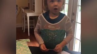 "Little Girl Thinks ""Shut Up"" Is A Bad Word - Video"