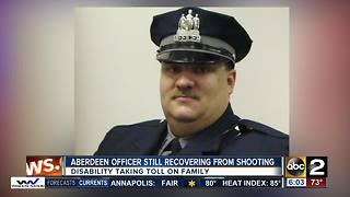 Aberdeen officer still recovering from shooting - Video