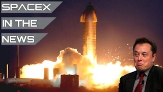 SpaceX's Starship Survives Setback During Final Test | SpaceX in the News