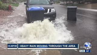 August feels more like October as showers slosh through Colorado - Video
