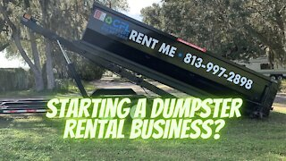 Starting a Dumpster Rental Business