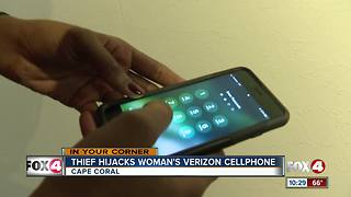 Woman says Verizon is charging her for stolen phone - Video