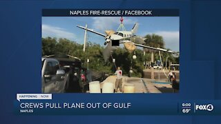 Plane Removed from Gulf