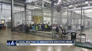 Local immigrant rights group reacts to President Trump's executive order