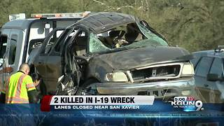 Deadly wreck shuts down SB I-19 - Video