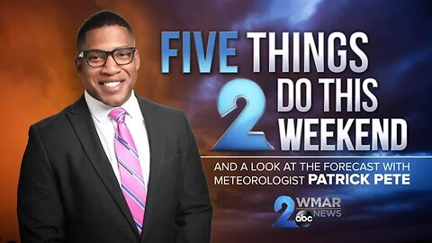 Five things 2 do this weekend: 1/25-1/26