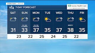 Fog Saturday brings in a cool weekend