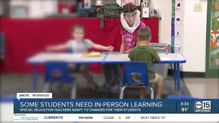 Some students need in-person learning, special education teachers say