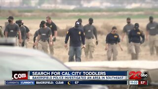 Bakersfield Police are currently taking over the Cal City search for missing cal city boys