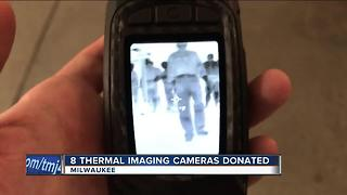 Milwaukee Fire Department gets new thermal imaging cameras - Video