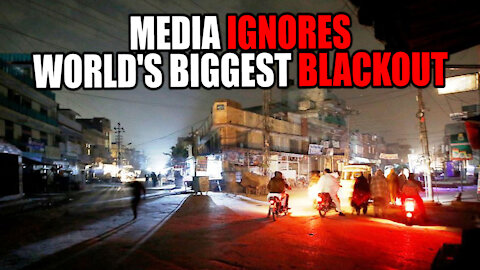 Media IGNORES Pakistan's BIGGEST BLACKOUT in HISTORY!