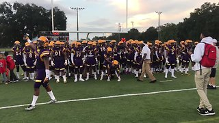 New Orleans High School Football Team Impress With Insane Field Entrance