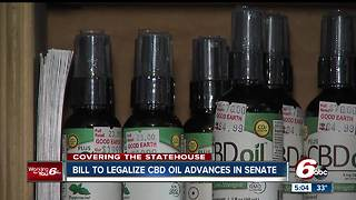 Bill to legalize CBD oil advances in Indiana Senate - Video