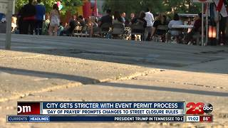 City cracks down on event permit process - Video