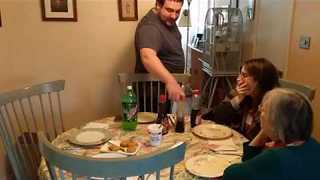 Christmas Morning Breakfast Ruined By Maple Syrup Choices - Video