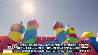 The Bounce House America comes to Bakersfield - Video