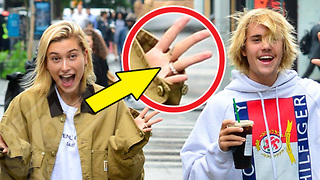 Did Justin Bieber & Hailey Baldwin Just Get ENGAGED! - Video