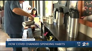 How COVID changed spending habits
