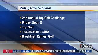 Refuge for Women host fundraising event for human trafficking victims - Video