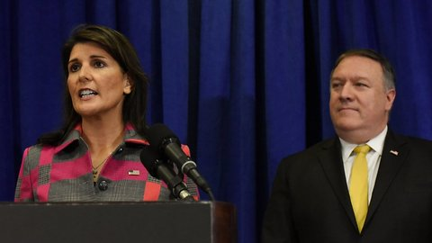 Haley, Pompeo: Claims Cabinet Discussed 25th Amendment Are False
