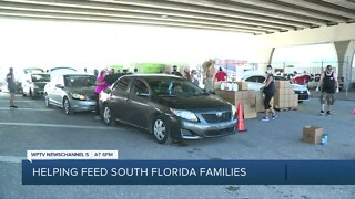 Hospitality Helping Hands continues to help supply South Florida families with food donations