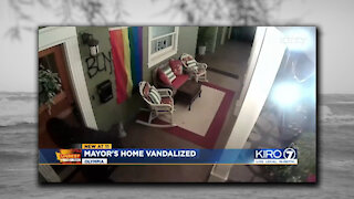 Democrat mayor home vandalized