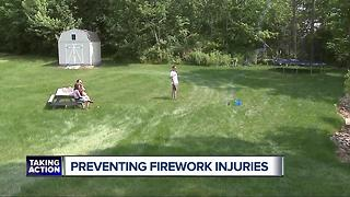 Preventing fireworks injuries on the Fourth of July