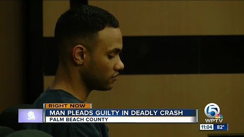 Acreage man pleads guilty in DUI crash that killed PBSO deputy's son
