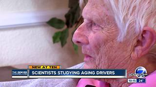 Should grandpa still drive? Study looks for data on seniors behind the wheel - Video