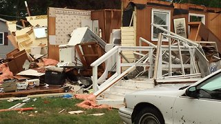 Confirmed Tornado Causes Significant Damage in Kent Island - Video
