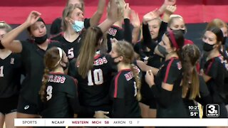 State Volleyball: Day 1 Highlights