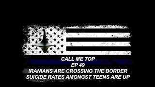 IRANIANS ARE BEING ARRESTED CROSSING THE BORDER VIRGINIA SHOWS OF CHILDREN SUICIDE ON THE RISE