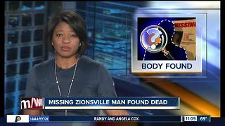 Body of missing Zionsville man found near Eagle Creek