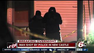 Indiana police shoot man while responding to domestic disturbance - Video