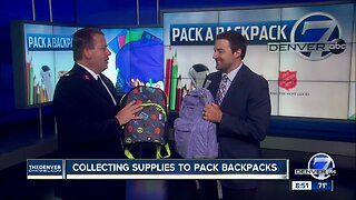 Help kids get ready for school with the Denver7 'Pack A Backpack' school supply drive
