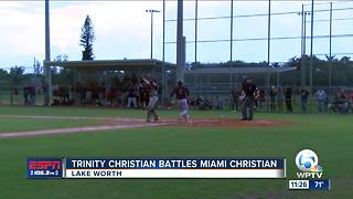 Regional final postponed between Trinity Christian and Miami Christian