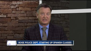 Boise Police Department starting up Spanish classes in January