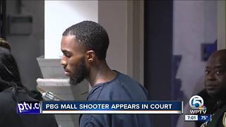 Palm Beach Gardens mall shooter appears in court