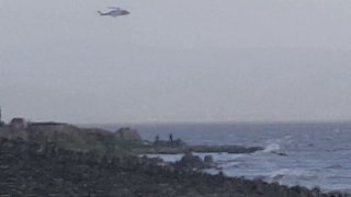 Coast Guard Scrambled for Kite Surfers as Ophelia Hits Ireland - Video