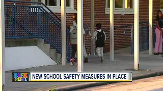 New school safety measures in place