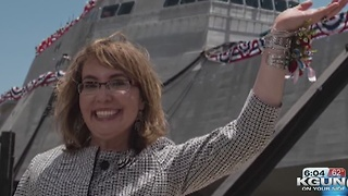 Navy to commission USS Gabrielle Giffords - Video