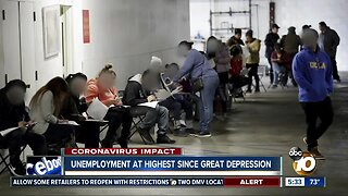 Unemployment at highest since Great Depression