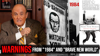 """WARNINGS From """"1984"""" and """"Brave New World"""" You Must Hear 